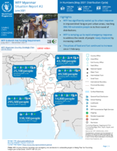 WFP Myanmar External Situation Report #2 (June 2021)