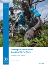 Strategic Evaluation of Funding WFP's Work