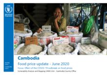 Cambodia Food Price Update - June 2020