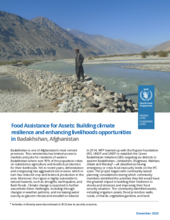 FFA Afghanistan: Building climate resilience and enhancing livelihoods - 2020