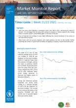 Timor-Leste: Market Monitoring Report   - 24 May-6 June 2021