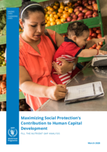 Maximizing Social Protection's Contribution to Human Capital Development -Fill the Nutrient Gap Analysis