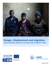 Hunger, displacement and migration: A joint innovative approach to assessing needs of migrants in Libya - 2019