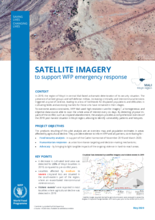 WFP Mali - Satellite Imagery