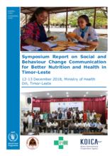 2019 -   Timor-Leste - Better Nutrition and Health
