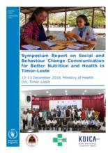 2019 -   Timor-Leste - Better Nutrition and Health