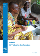 In brief: WFP's Evaluation Function