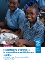 School feeding programmes in low- and lower-middle-income countries