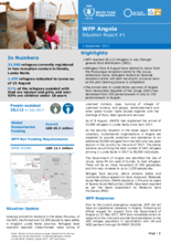 WFP Angola External Situation Reports