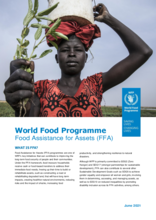 WFP Food Assistance for Assets (FFA) - 2021