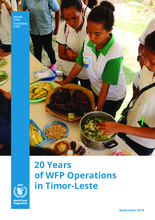 Twenty years of WFP Operations in Timor-Leste