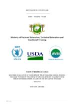 Cote d'Ivoire, School Feeding: a mid-term evaluation