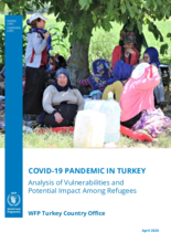 April 2020 – COVID-19 Pandemic in Turkey: Analysis of Vulnerabilities and Potential Impact Among Refugees