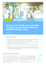 Using Local Cereals and Local Mills to Supply School Meals in Kenya's Kakuma Refugee Camp
