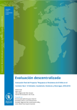 El Niño response in the Dry Corridor of Central America: an evaluation