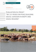 "Mali: evaluation of the joint project ""Peers for Peace Building, Social Cohesion in Mopti and Ségou Regions"""