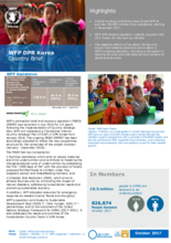 2017 - WFP DPR Korea - Country Brief