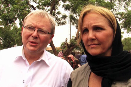 WFP Executive Director and Australian Minister of Foreign Affairs visit Dolo in Somalia (For The Media)