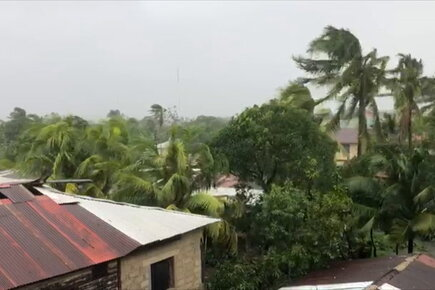 WFP Video from Nicaragua Shows Devastation from Tropical Storm Eta as Record Number of Storms Hit Caribbean and Latin America (For the Media)
