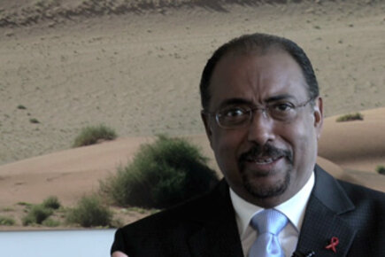 UNAIDS Executive Director Michel Sidibé