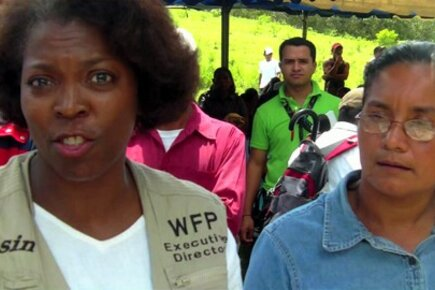 WFP Executive Director Ertharin Cousin Sees Hunger Solution In Nicaragua