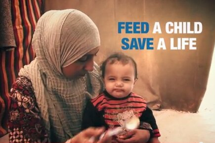 Syria: Feed A Child. Save a Life.