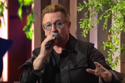 Bono Speaks Out For Syrians, A Zero Hunger World