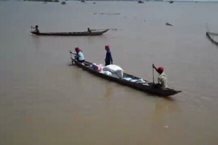Food Arrives For Cambodia Families Hit By Flooding