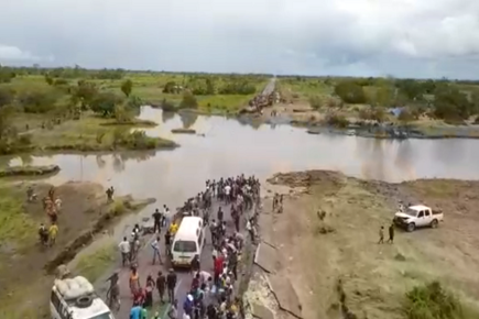 WFP News Footage Shows First Airlifts to Flooded Areas in Mozambique (For the Media)