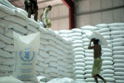 Massive Shipment of Food Arrives at Yemeni Port of Hodeidah but WFP Warns More Needed to Avert Famine (For the Media)