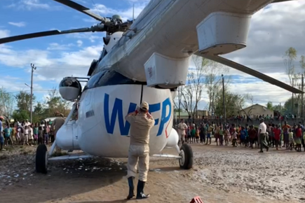 WFP News Footage Shows Airlifts to Flooded Nhamatanda District in Mozambique (For the Media)