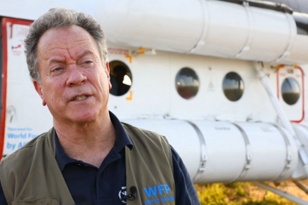 New WFP Video from Flood Devastated Mozambique Shows Helicopter Relief Operations with WFP Chief, David Beasley (For the Media)