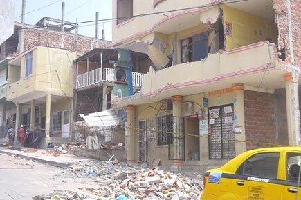 Ecuador Earthquake (For the Media)