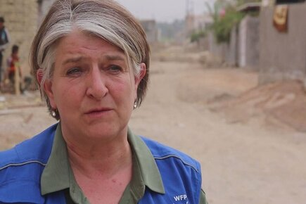 New WFP Video/Photos from Iraq Shows People Fleeing Western Mosul (For the Media)