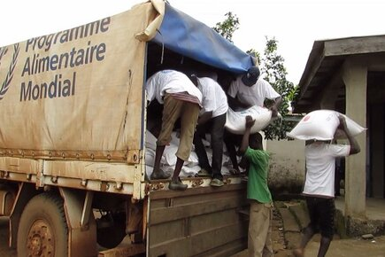 WFP Responding With Food and Logistical Support In Ebola Effected Areas (For the Media)