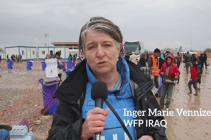 People Fleeing Mosul