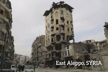 Aleppo Amidst the Devastation, the Beginnings of Recovery