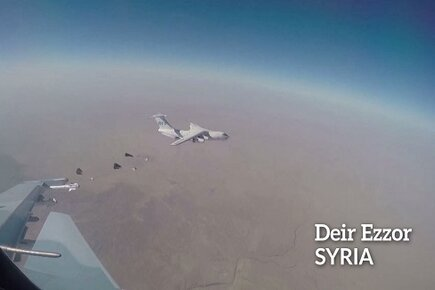 Syria, 250 Airdrops