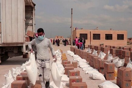 New WFP Video From Aleppo, Syria, Shows COVID19 Prevention Measures in Conflict Areas (For the Media)