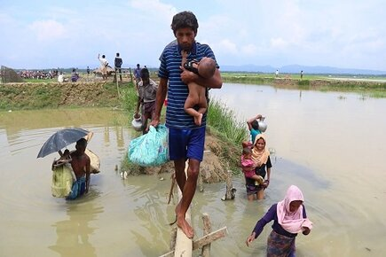 WFP Scales Up Food Distributions to People Fleeing Violence in Myanmar (For the Media)