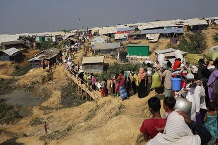 New WFP Footage from Rohingya Camp in Bangladesh (For the Media)