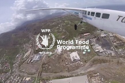 Aerial Assessment Mission in Dominica Island