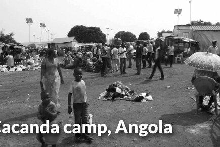 Kasai Crisis, Cacanda Camp - Angola