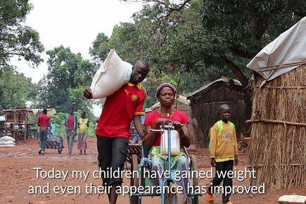 Bernadette's Story, Central African Republic