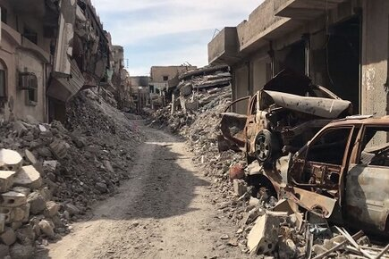 WFP Exclusive Video Shows Scale of Destruction and Humanitarian Need in Raqqa City (For the Media)