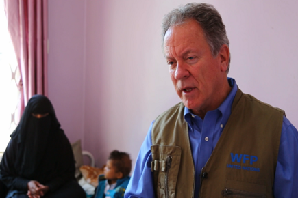 WFP Executive Director Appeals for Peace from Frontline of Conflict in Yemen (For the Media)