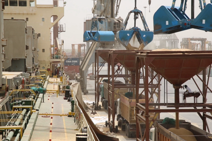 The Port of Hodeidah is Yemen's Lifeline (For the Media)
