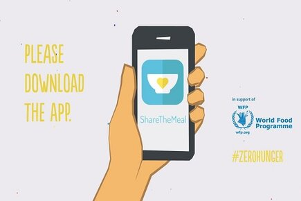 WFP Launches Free App for Smartphone Users to Help Feed Syrian Refugee Children (For the Media)