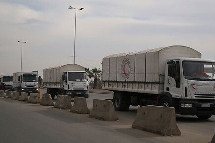 Interagency Convoy Reaches Besieged Town of Madaya (For the Media)