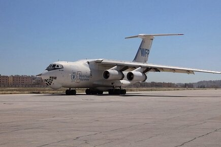 WFP Delivers Food in Syria by Air and by Road (For the Media)